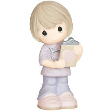 $ New Precious Moments Figurine Medical Worker Nurse Porcelain Statue Caretaker