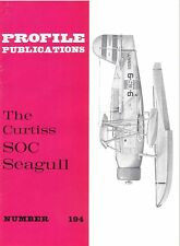 THE CURTISS SOC SEAGULL: PROFILE PUBS No.194/ NEW PRINT FACSIMILE EDITION