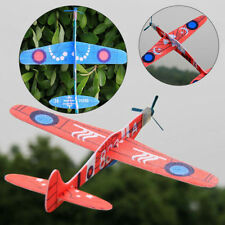 Launch Glider Plane Outdoor Rotating Kids Toy Gift EPP Foam Hand Throw Airplane