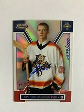 2002-03 Pacific Exclusive #198 Jay Bouwmeester AU RC 0399/1000 Florida Panthers