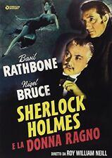 Sherlock Holmes E La Donna Ragno DVD TV1184 GOLEM VIDEO