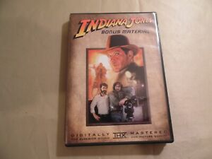 Indiana Jones Bonus Material (Used DVD) Free Domestic Shipping