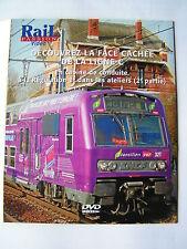 DVD Rail Passion Ligne C transilien VERSAILLES RIVE GAUCHE CHANTIERS ARDOINES