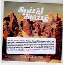 (BS751) Spiral Stairs, Cold Change - DJ CD