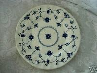 Vintage Collectible Cobalt Blue Denmark Daisy Pattern Plate - Made in England
