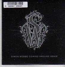 (BR8) Simon Webbe, Coming Around Again - DJ CD