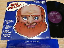 GENTLE GIANT-Giant For A Day!   US Capitol  LP