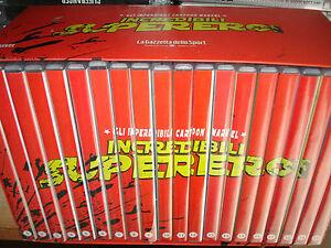 BOX COFANETTO IN 20 DVD INCREDIBILI SUPEREROI MARVEL