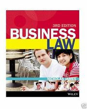 Business Law by Nickolas James (Paperback, 2013)