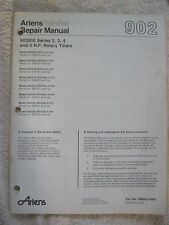 ARIENS 902000 SERIES 2, 3, 4, & 5 HP ROTARY GARDEN TILLER SERVICE REPAIR MANUAL