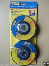 "10pk Metal Grinding Wheel Disc 4.5"" X 1/4"" X 7/8"" Angle Grinder Discs"
