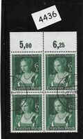 Nice Used stamp block / 1939 Venetian Woman Hitler's culture fund / Third Reich