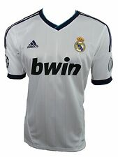 Adidas Real Madrid Jersey Champions League Maillot Blanc Taille 36