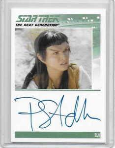 STAR TREK TNG Pamela Segall as Oji Autograph/Auto Card RITTENHOUSE REWARDS