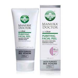 Manuka Doctor ApiClear Facial Peel 100 ml Clearance genuine manuka doctor RRP£30