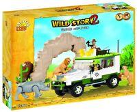 COBI 22360 Konstruktion Spielzeug Bausteine Wild Story 2 - Safari Off Road