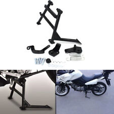 For Suzuki V strom DL650 12-16 Centre Stand Parking Firm Frame Heavy Steel Black