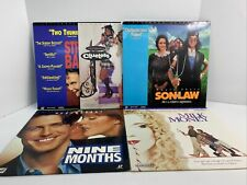 Laserdisc LOT OF 5 Romantic Comedy Movies Very Good Condition DA92984 L#101