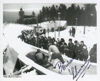 Bernhard Lehmann (DDR) 1.OS 1976 Innsbruck Viererbob original signiert/signed !!