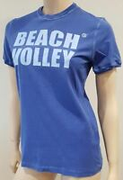 DSQUARED2 Men's Blue Cotton Beach Volley Printed Short Sleeve T-Shirt Tee Top XS