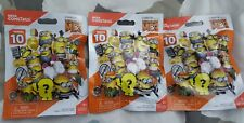 LOT OF 3 DESPICABLE ME MINIONS MEGA CONSTRUX SERIES 10 BLIND BAGS~AGES 5+~NEW