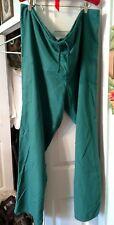 Hunter Green Cherokee Scrubs Workwear Natural Rise Pull On Cargo Pants 4200 Hunw