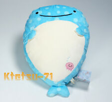 Jinbesan Super Mochi mochi Pillow Plush Doll Jinbei Whale Shark San-X 63601