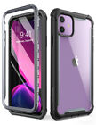 i-Blason iPhone 11 Case, Ares Dual Layer FULL-BODY Cover with Screen Protector