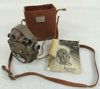 Vintage 1940's Revere 8 Model 88 Double 8mm Movie Camera