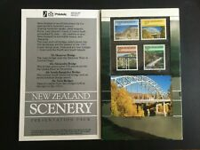 NEW ZEALAND. 1985 BRIDGES. PHILATELIC SCENERY PRESENTATION PACK -:- NICE M.U.H..