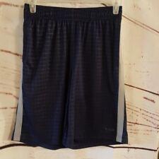 Reebok Basketball Shorts Blue Gray Size Medium