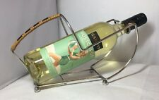 Vintage 1930's EPNS Silver Plated Wine Bottle Holder Pourer Caddy