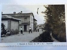 CARTOLINA POSTCARD San Bernardo di Cervasca (CN) - Cascina 1936 animata