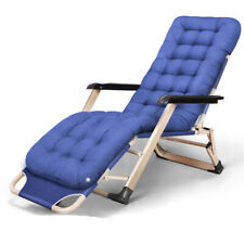 Folding Lounge Nap Siesta Bed Office Lazy Person Cool Balcony Beach House Chair
