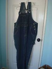 Cotton Ginny Plus Denim Bib Overalls Pants Plus Size 26/28 3x 4x