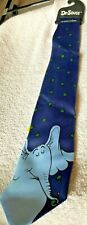 Dr Seuss Horton tie new with tag and hanger