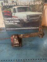 Farmall 300 350 400 450 tractor IH steering shaft main holder main bracket + fan