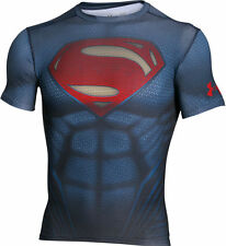 Under Armour UA Mens Alter Ego Superman Compression Shirt - Mens