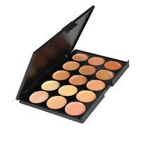 15 Colors Contour Face Concealer Camouflage Foundation Cream Palette Makeup PQ