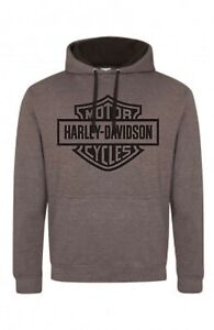 Harley Davidson Hoodie Contrast design BRAND NEW, sizes S-XXL