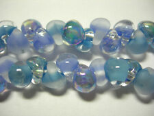 120 4 colours 250gm lampwork cased glass flower drop beads