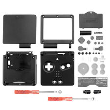 Solid Black Housing Shell Button Replace for Nintendo Game Boy Advance SP GBA SP