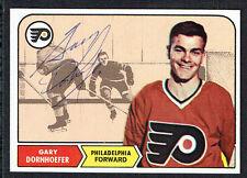 Gary Dornhoefer #94 signed autograph auto 1968 Topps Hockey Trading Card