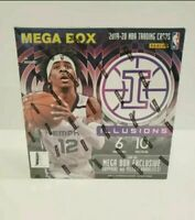 2019-20 Panini Illusions Basketball NBA Mega Box Brand New Sealed - Zion? Ja? 🔥