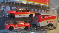 GREENLIGHT HITCH & TOW 15 CHEVROLET SILVERADO & 16 CAMARO MIJO EXCLUSIVE NEW b