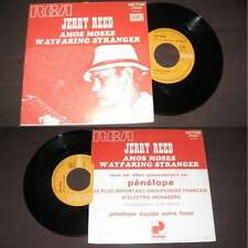 JERRY REED - Amos Moses French PS Blues Rock 1970 BIEM