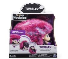 NEW Zoomer Hedgiez TUMBLES Interactive Hedgehog Really Rolls Includes Comb Pink