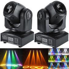2x 30W RGB LED Moving Head Stage Light DMX-512 DJ Disco Party Club Stage Lightig