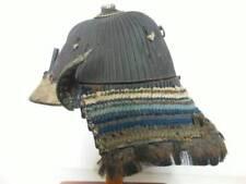 Edo period Japan antique Iron 62 plates Kabuto armor helmet yoroi samurai sword