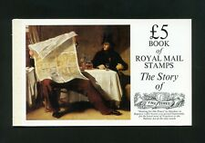 1985 Dx6 The Times Prestige booklet - No Stamps